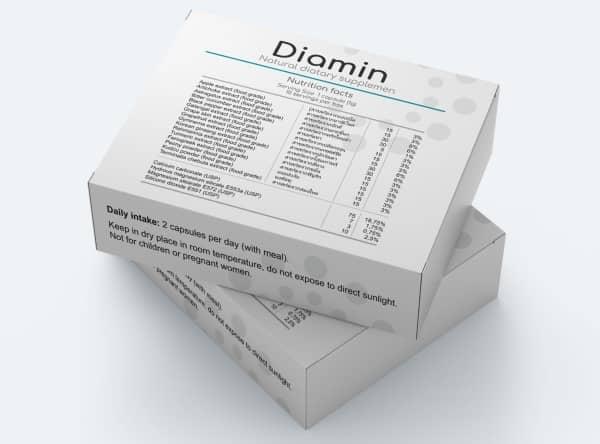 Diamin ยา